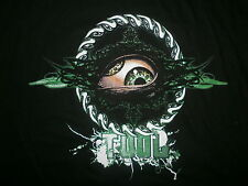 TOOL CONCERT T SHIRT Band Tour 2014 2-Sided Cities Lateralus Eyeballs Sawblade