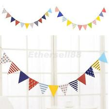 Multicolor Birthday Party Flag Bunting Decoration Holiday Décor