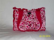 Zebra Cheetah Heart Cute Valentines Rag Quilt Diaper Bag Tote Purse Great Gift