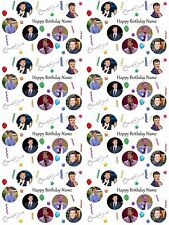 Daniel O'Donnell Personalised Birthday Gift Wrap ADD NAME/S CHOOSE BACKGROUND