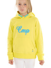 CMP Sweatshirt Hoodie Casual sweater yellow Stretch Kangaroo pouch light