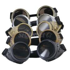 Cyber Goggles Steampunk Welding Goth Cosplay Vintage Goggles Cosplay Glasses