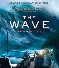 The Wave (Blu-ray Disc, 2016) NEW w/ Lenticular Slipcover