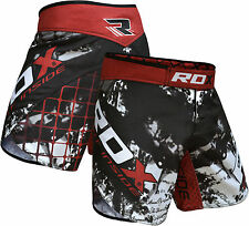 RDX MMA Shorts Grappling UFC Kick Boxing Mens Muay Thai Cage Fight Trunks CA