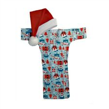 Ooga Booga Christmas Gown with Baby Santa Hat - 4 Preemie and Newborn Sizes