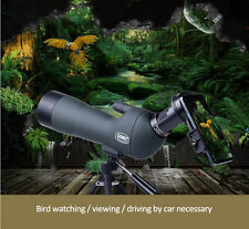 20-60X60 Spotting Scope Monocular Telescope With Tripod For Hunting Birding