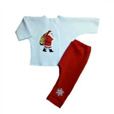 Santa Claus 2 Piece Christmas Baby Clothing Outfit - 4 Preemie and Newborn Sizes