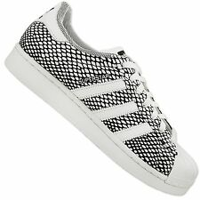 ADIDAS ORIGINALS SUPERSTAR 80s SNAKE PACK LEATHER SNEAKERS SHOES S82731 WHITE