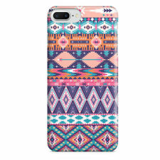 Pastel Aztec Tribal Geometric Slim Fit Phone Case Cover for iPhone Samsung
