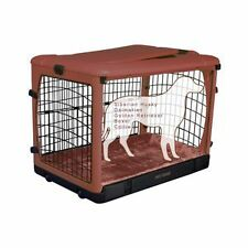 """Pet Gear The Other Door Steel dog Crate w/Plush Pad 42"""""""