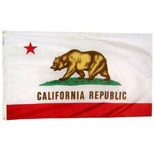 California 1911 State Indoor Outdoor Parade Dyed Flag All Larger Sizes