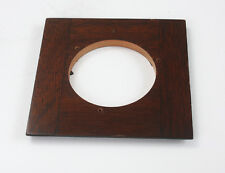LENS BOARD, FOUR INCHES SQUARE, 3-9/16 INCH INNER STEP, 59MM HOLE/182116