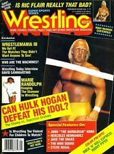 HULK HOGAN Wrestling Today Magazine 1987 PREMIER ISSUE ROAD WARRIORS/RIC FLAIR