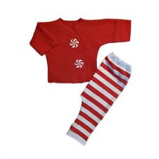 Peppermint Stripes Christmas Baby Clothing Outfit 4 Preemie and Newborn Sizes!