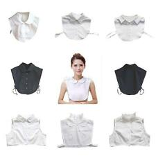 Women Detachable Peter Pan Lapel Fake False Collar Choker Necklace Shirt Blouse