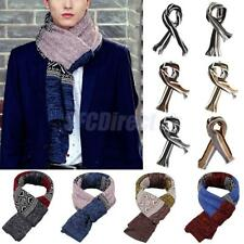 Fashion Stripe Men Wrap Scarf Shawl Winter Warm Long Scarves