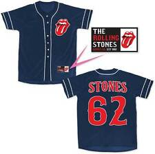 The Rolling Stones Music Classic Rock Band Adult Mens Baseball Jersey 31272433
