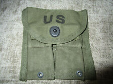 ORIGINAL 1957 DATED M1 CARBINE OR RIFLE BELT LOOPED MAGAZINE POUCH