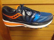 SAUCONY MEN'S HURRICANE ISO 2  RUNNING  SHOE NAVY  MEDIUM WIDTH  MULTIPLE SIZES