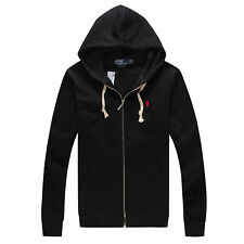 NWT POLO MEN'S HOODED GUARD COAT CASUAL ATHLETIC SWEATSHIRTS SIZE S M L XL XXL