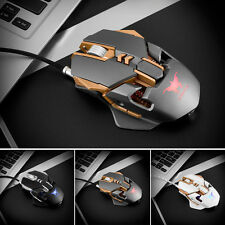 New Adjustable Weight 3200DPI Wired Gaming Game Mouse Mice for Computer Notebook