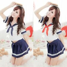Japanese School Lady Students Sailor Uniform Cosplay Sexy Anime Costume Cosplay
