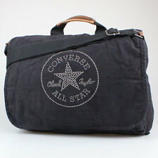 CONVERSE ALL STAR CHUCKS TASCHE VINTAGE PATCH BLACK SCHWARZ 91150 LEDER SCHUHE