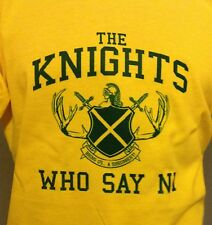 MONTY PYTHON, THE KNIGHTS WHO SAY NI! Holy Grail sword & shield style T-Shirt