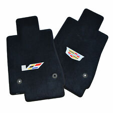 Cadillac CTS CTS-V Floor Mats - Sedan - Logos on All Mats - 2016-2017 USA Made