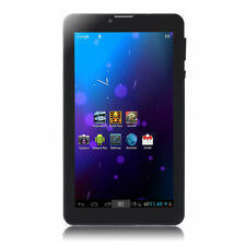 """IRULU eXpro X2s 7"""" Black Phablet Android 4.4 Kitkat Dual Core & Cam 8GB Tablet"""
