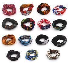 HOT Cycling Bicycle Outdoor Multi Function Head Scarf Magic Headband Face Mask