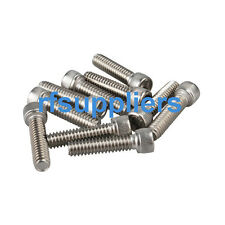 100X kinds of Stainless Steel Hexagon Socket Head Cap Screws #10-24 types