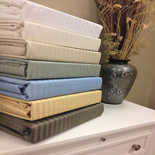 Stripe 650 Thread Count Wrinkle Free Cotton Sheets