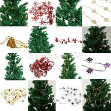 Wedding Christmas Xmas Tree Hanging Ornament Beaded Christmas String Garland