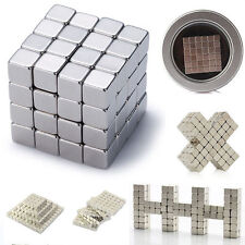 216 Magnetic Cube Square Magnet Block Puzzle Educational-Toys 3mm /4mm /5mm
