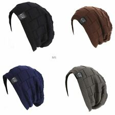 Fashion Unisex Women Men New Beanie Hat Ribbed Grid Outdoor Knit Hat occident