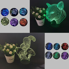 Colorful Changing LED Night Light Lamp Home Room Party Desk Decor Visual Lamp SZ