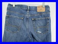 Hollister DISTRESSED Mens Jeans Size 31x30 SKINNY Zipper Fly Destroyed