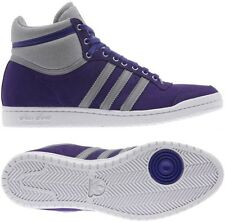 Adidas Top Ten Hi Sleek W Shoes Trainers purple-grey Ladies Suede