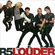 Louder by R5 (Pop/Rock) (CD, Sep-2013, Hollywood)