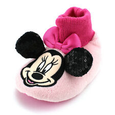 Disney Minnie Mouse Baby Toddler Girls Sock Top Slippers MNF204
