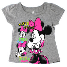Disney Minnie Mouse Baby Girls Short Sleeve Tee T-Shirt Top XDM5232F 12M 18M 24M