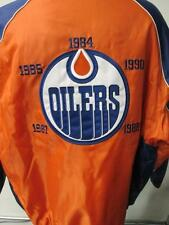 Edmonton Oilers Mens M L XL 2XL 5 Time Champions Embroidered Winter Jacket EDO 1