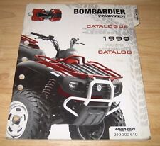 LOT Quest XT Traxter Max Outlander Rally 7 Parts Catalog BOMBARDIER ATV Can Am