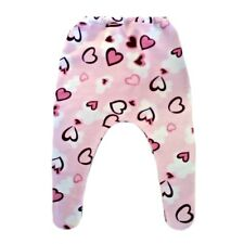 Baby Girl Pink Hearts Knit Tights - 6 Preemie Newborn Infant Toddler Sizes