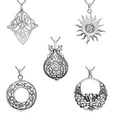 Various 925 Sterling Silver Irish Style Celtic Weave Filigree Pendant