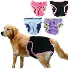 Female Pet Dog Pants Bitch Heat In Season Menstrual Sanitary Nappy Diaper XS-XL
