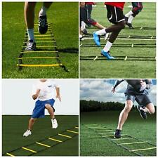 11 Soccer Football Speed Agility Training Ladder Sports Exercise Equipment R3W8