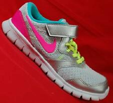 Girl's Toddler NIKE FLEX EXPERIENCE 3 Gray/Pink Casual Athletic Sneakers Shoes
