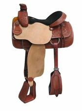"Circle S Roper Style Saddle ROPING TREE Warrantied for Roping 15"" 16"" NEW"